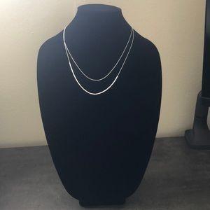 Gorjana layered necklace